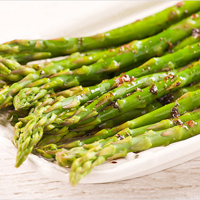 Asparagus with Balsamic Brown Butter