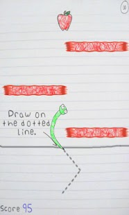 Free Scribble Worm - screenshot