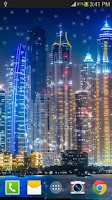 Screenshot of Dubai Night Live Wallpaper PRO
