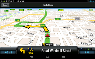 Screenshot of CoPilot Premium Europe Sat Nav