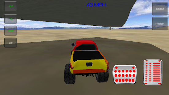 Monster Truck Stunts 3D - screenshot