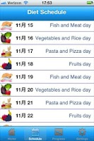 Screenshot of The 90 Day Diet