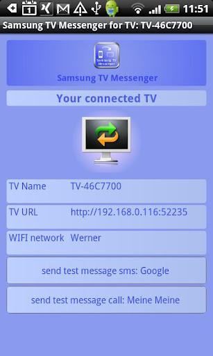 Samsung TV Messenger