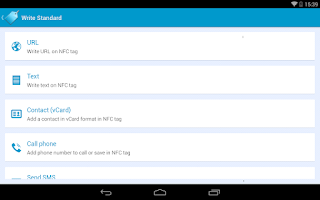 Screenshot of NFC Basic