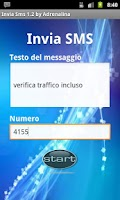Screenshot of Invia SMS