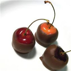 Chocolate Dipped Bing Cherries