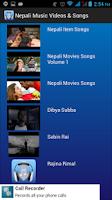 Screenshot of Nepali Music Videos & Songs