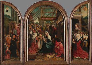 RIJKS: Jacob Cornelisz. van Oostsanen: The Adoration of the Magi 1517