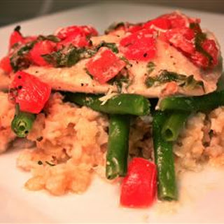 Easy Tilapia with Wine and Tomatoes
