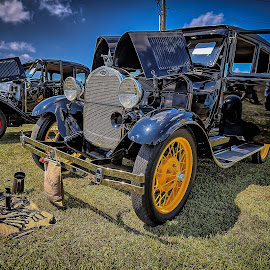 Vintage Display by Ron Meyers - Transportation Automobiles