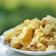 Potato Salad with Apples and Bacon