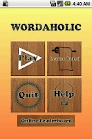 Screenshot of Wordaholic - Free Word Find