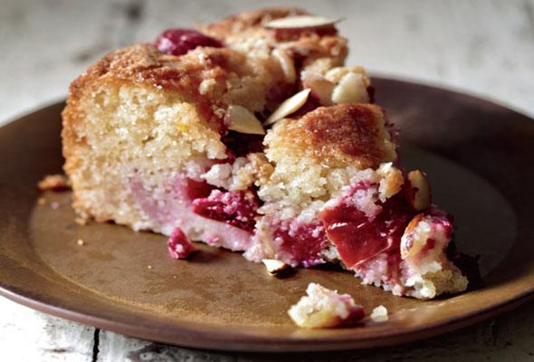 Plum Almond Cake