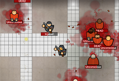 Prison Architect alpha build 17 arrives, throws armed guards into the mix
