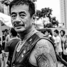 Rider by Clarence Damasco - People Body Art/Tattoos ( chrisklayton damasco, cha damasco, chirs librojo, allen yan, doris rodriguez,  )