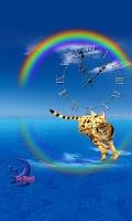 Screenshot of Cute Bengal Cat-Live Wallpaper