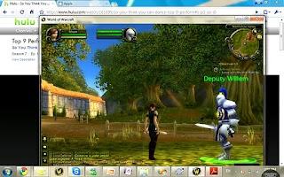 Screenshot of Splashtop Remote-Toshiba AT200