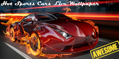 Screenshot of Hot Sports Cars Live Wallpaper
