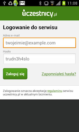 Uczestnicy.pl Check-in