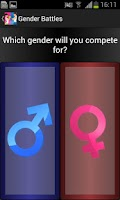 Screenshot of Gender Battle