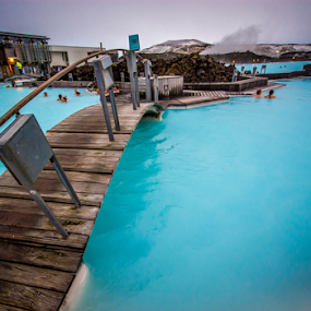 Blue Lagoon by Craig Fraser - Buildings & Architecture Bridges & Suspended Structures