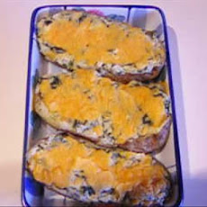 Spinach Twice Baked Potatoes