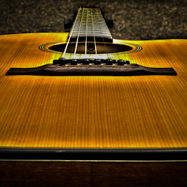 Classic guitar by Toine Baken - Artistic Objects Musical Instruments ( wood, guitar, strings, instrument, classic, close, up )