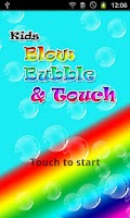 Screenshot of Blow bubbe and touch