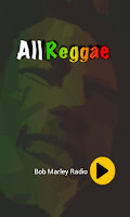 Screenshot of Bob Marley Radio