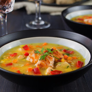 Simple Salmon Chowder