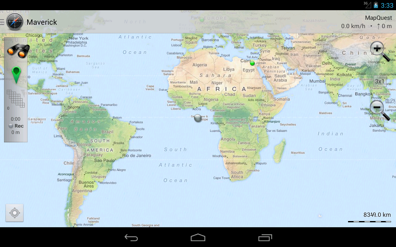 how to find coordinates in google maps app