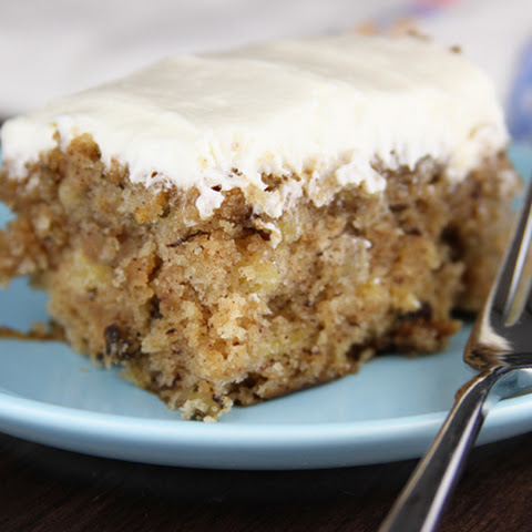 Hummingbird Sheet Cake