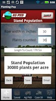 Screenshot of Planting Population Calculator