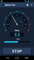 Screenshot of Speed Test