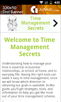Screenshot of Time Management Secrets