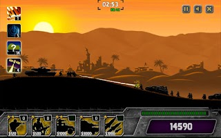 Screenshot of Dawn Wars