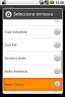 Screenshot of ClacRadio