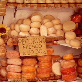 Pecorino cheese assortment from Pienza by Gale Perry - Food & Drink Meats & Cheeses (  )