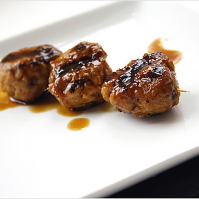 Grilled Chicken Meat Balls (Yakitori)