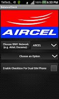 Screenshot of Balance Check- Prepaid (India)