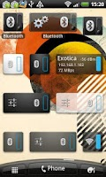 Screenshot of Bluetooth Widget
