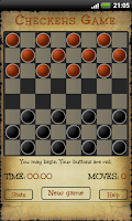 Screenshot of Checkers (Dame)