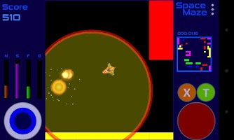 Screenshot of Space Maze Lite