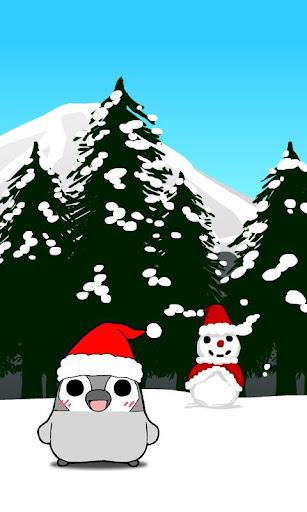 ぺそぎんライブ壁紙「クリスマス」完全版 人気ペンギン待ち受け