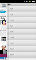 Screenshot of Andhra Pradesh Newspapers