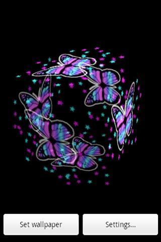三維彩色蝴蝶2