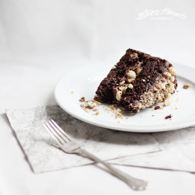 Praline Chocolate Cake