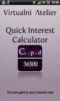 Screenshot of Quick Interest Calculator