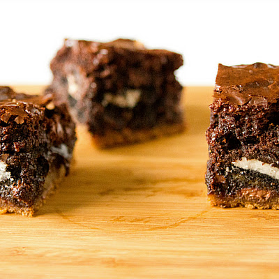Chocolate Chip Cookie & Oreo Fudge Brownie Bar