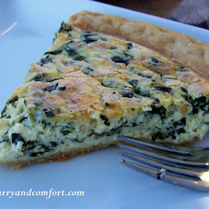Quiche Lorraine with Spinach